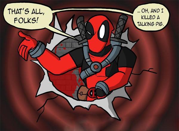 """""""Dị nhân lắm mồm"""" Deadpool đã tìm được địa điểm tung hoành 4"""