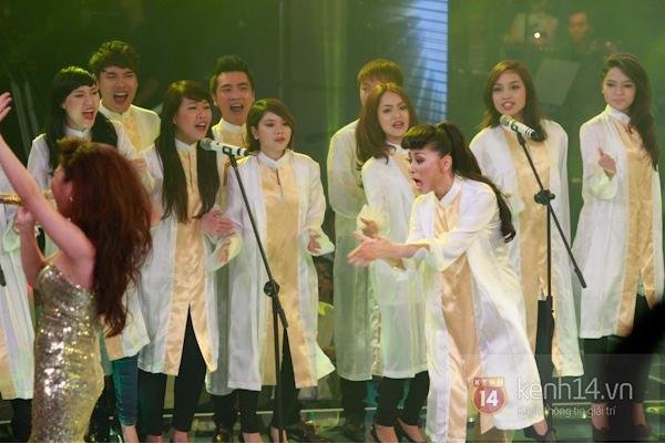 Những hình ảnh ấn tượng tại trường quay Chung kết The Voice 7