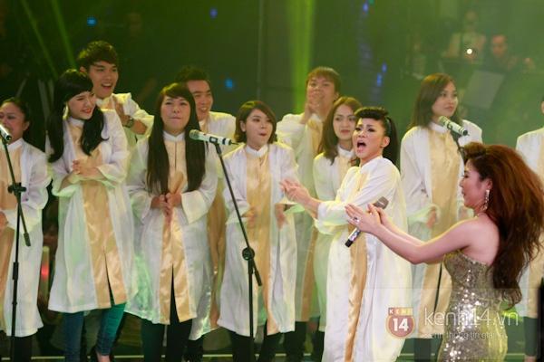 Những hình ảnh ấn tượng tại trường quay Chung kết The Voice 10