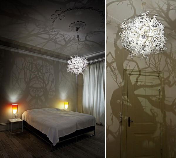 Đèn chùm biến căn phòng bạn thành khu rừng ma 2