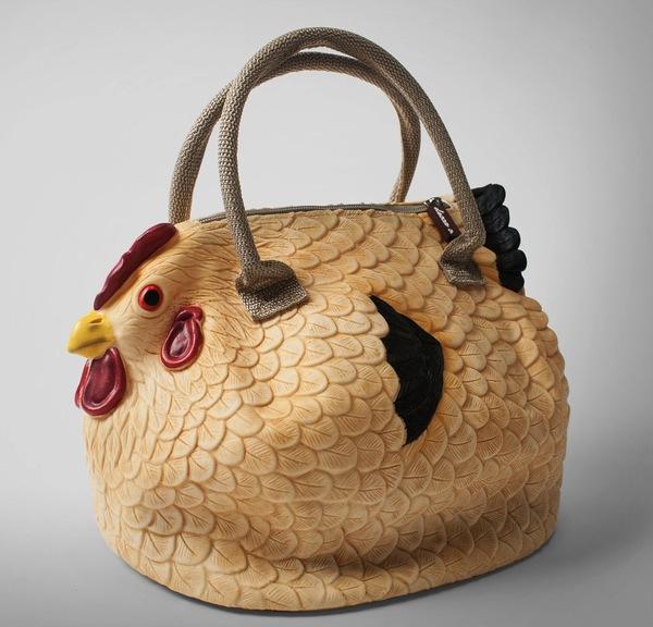 Túi xách hình gà mái 1