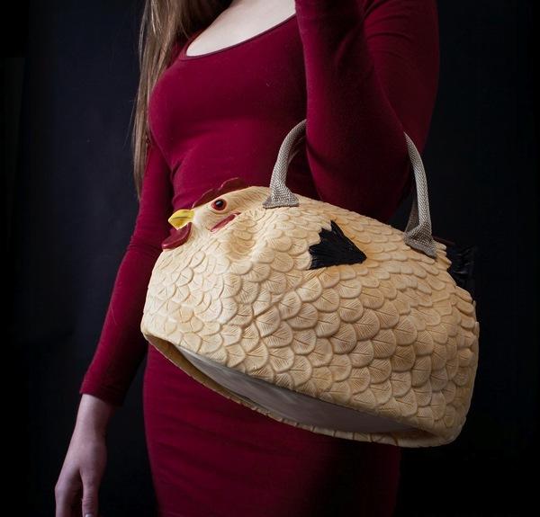 Túi xách hình gà mái 2