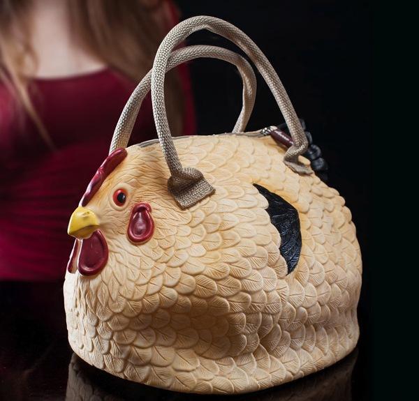 Túi xách hình gà mái 3