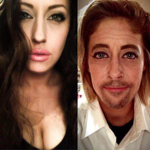 Tự make-up biến mình thành người nổi tiếng 13