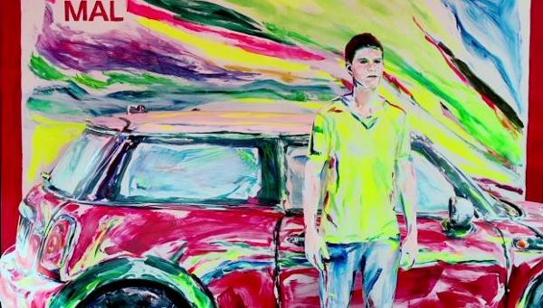Nghệ sĩ biến ô tô và người thành tranh vẽ 9