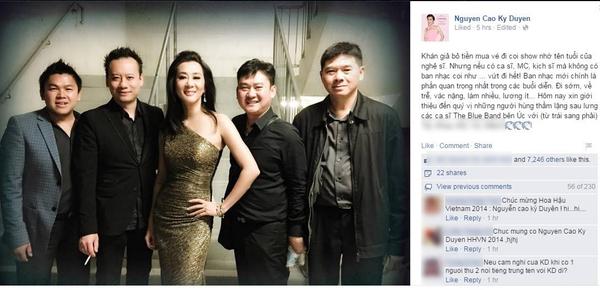Dân mạng thi nhau chế ảnh vì sự trùng tên giữa MC và Hoa hậu Nguyễn Cao Kỳ Duyên 7