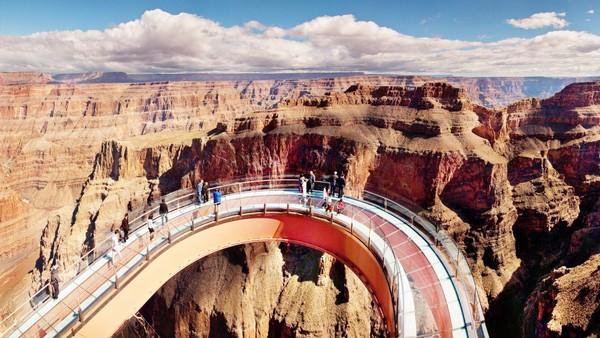 Kết quả hình ảnh cho cầu kính Grand Canyon