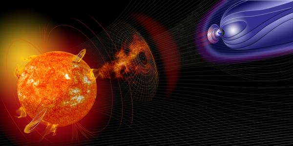 Thực hư chuyện Trái đất chìm trong bóng tối sáu ngày bởi bão Mặt trời 5