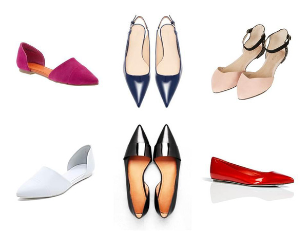 """Giày bệt mũi nhọn - đôi giày """"quyền lực"""" của Hè 2013 5"""