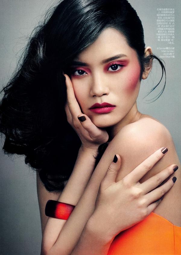 Làm Đẹp Q&A: Chọn kiểu khắc phục tóc mỏng, dầu cho nàng mặt to, trán dô 4