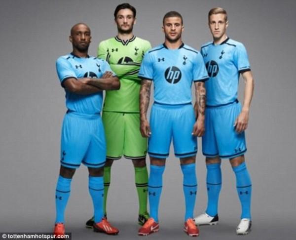 Đại gia Premier League trình làng áo đấu mùa giải mới 24