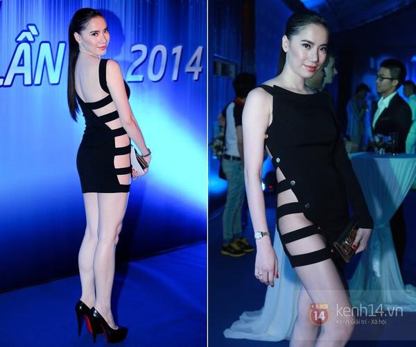 Sao Việt đẹp-xấu với thời trang xẻ từ-đầu-đến-chân 3