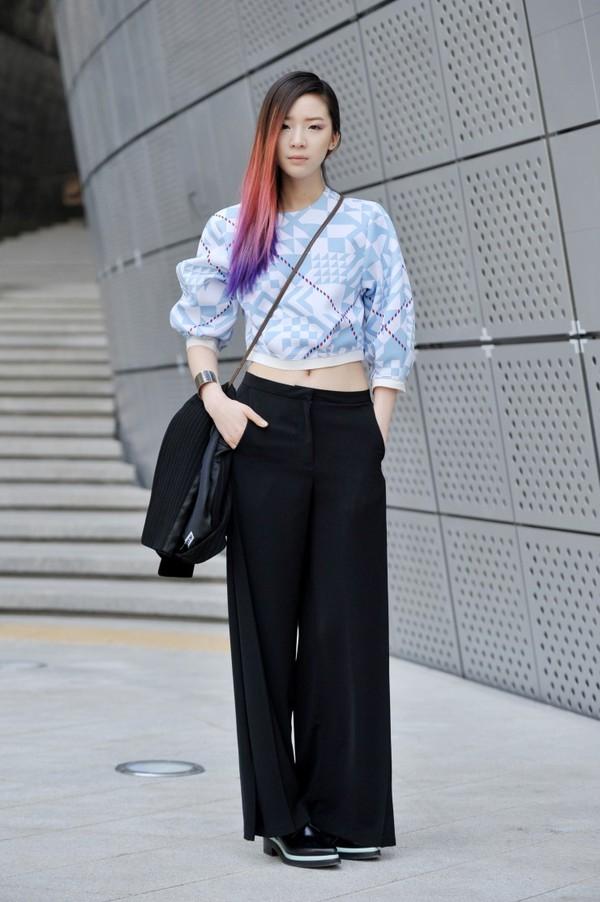 """Irene Kim – """"nàng thơ"""" nổi loạn của street style xứ Hàn 5"""