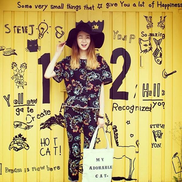 """Irene Kim – """"nàng thơ"""" nổi loạn của street style xứ Hàn 7"""