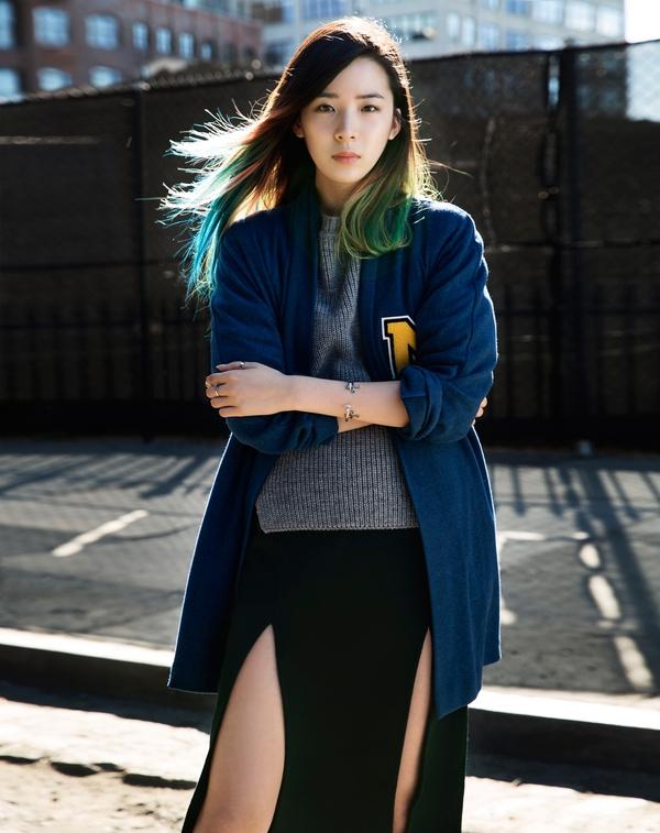 """Irene Kim – """"nàng thơ"""" nổi loạn của street style xứ Hàn 14"""