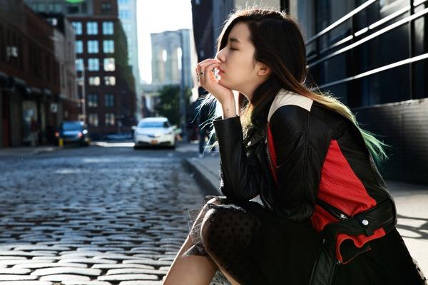 """Irene Kim – """"nàng thơ"""" nổi loạn của street style xứ Hàn 16"""