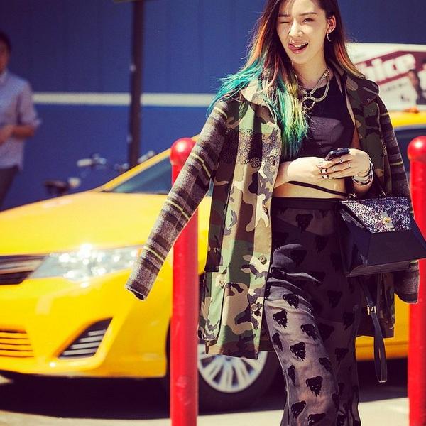 """Irene Kim – """"nàng thơ"""" nổi loạn của street style xứ Hàn 4"""