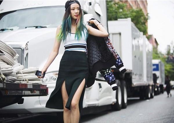 """Irene Kim – """"nàng thơ"""" nổi loạn của street style xứ Hàn 9"""