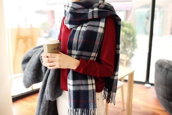 Tường tận những cách quàng cho loạt kiểu khăn mùa lạnh 6