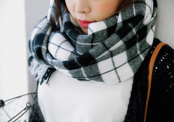 Tường tận những cách quàng cho loạt kiểu khăn mùa lạnh 17