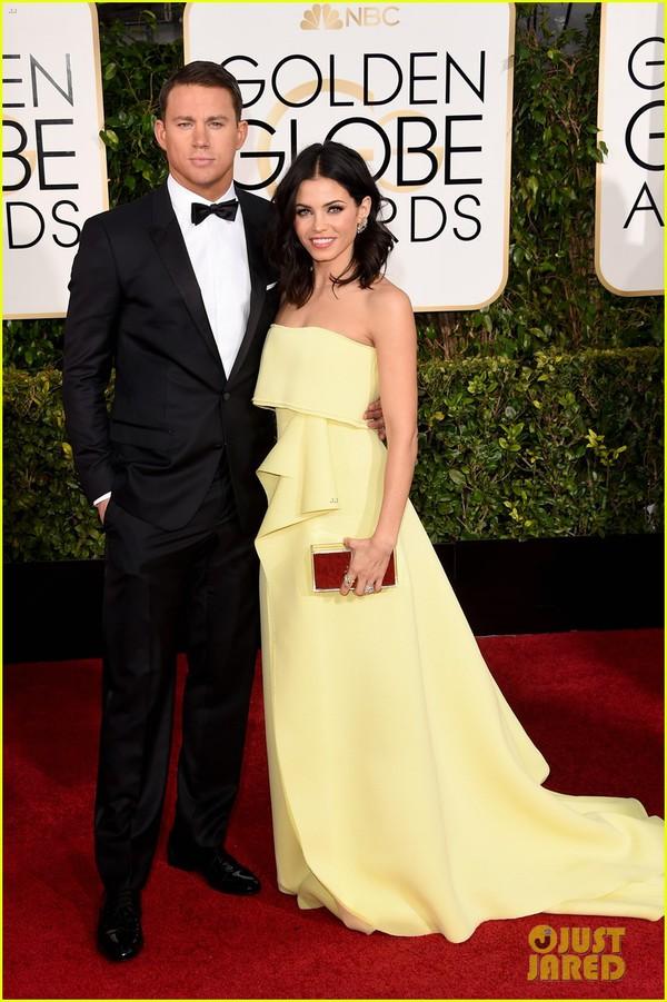Bóc mác loạt váy áo lộng lẫy của sao tại Quả Cầu Vàng 2015 25