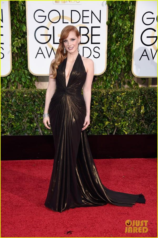Bóc mác loạt váy áo lộng lẫy của sao tại Quả Cầu Vàng 2015 29
