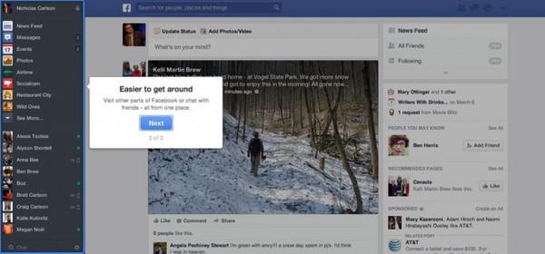 Săm soi giao diện mới cực ấn tượng của Facebook 2