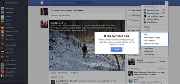 Săm soi giao diện mới cực ấn tượng của Facebook 3