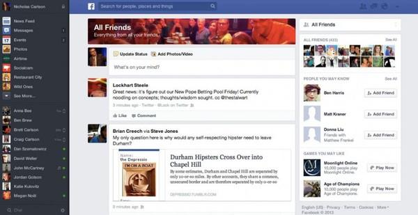Săm soi giao diện mới cực ấn tượng của Facebook 8