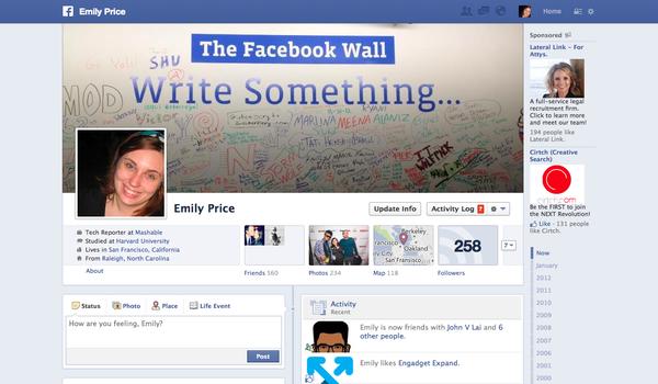 Facebook tiếp tục đổi giao diện mới 2