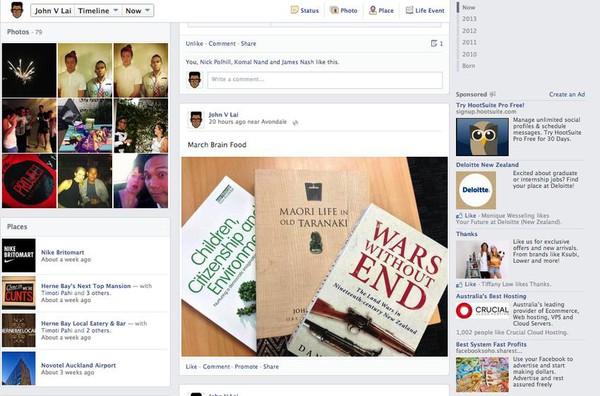 Facebook tiếp tục đổi giao diện mới 7