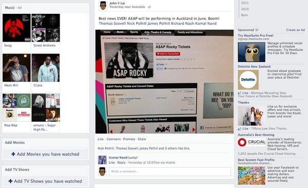Facebook tiếp tục đổi giao diện mới 8