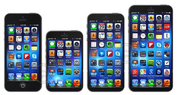iPhone 5S sẽ sở hữu nhiều kích thước màn hình khác nhau 2