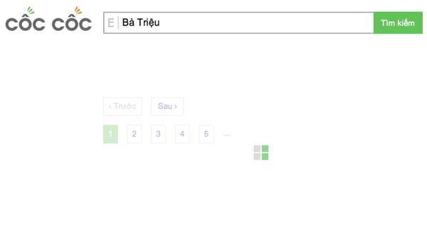 """Công cụ tìm kiếm Việt Cốc Cốc """"so găng"""" cùng đại gia Google 8"""
