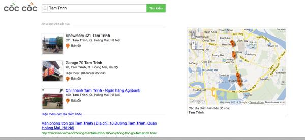 """Công cụ tìm kiếm Việt Cốc Cốc """"so găng"""" cùng đại gia Google 6"""