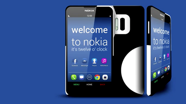 Bản concept smartphone Nokia chạy Android Jelly Bean 2