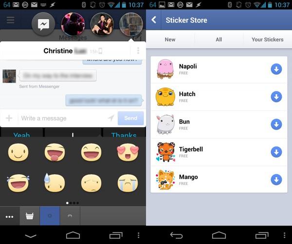 Cách sử dụng sticker Facebook ngay trên PC 1