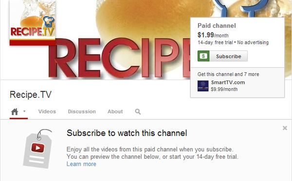 YouTube tiến hành thu phí với giá khởi điểm từ 1 USD 2