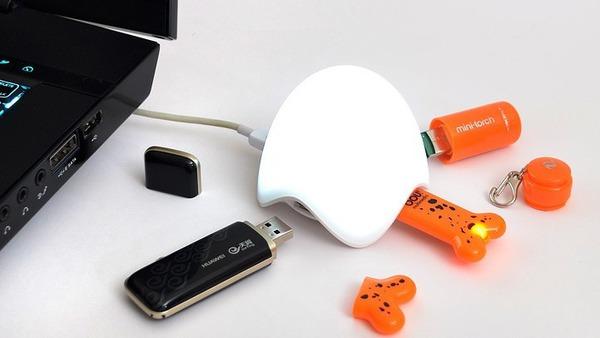 """10 phụ kiện chia USB với thiết kế cực """"độc"""" 7"""