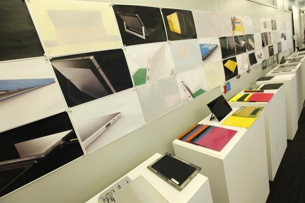 Microsoft Surface từng được tạo nên từ bìa cứng và băng dính 1