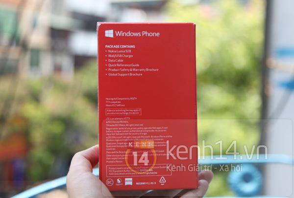 Cận cảnh Nokia Lumia 928 tại Việt Nam 2