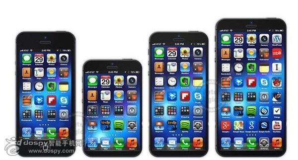 Apple đang thử nghiệm iPhone kích thước màn hình 4,7 và 5,7 inch 5