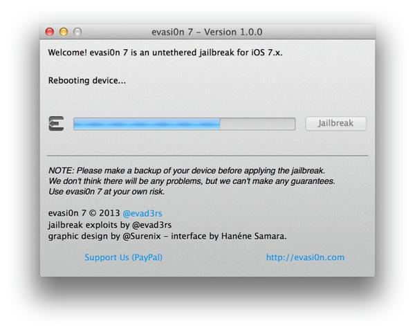 Bản jailbreak iOS 7 chính thức ra mắt 1