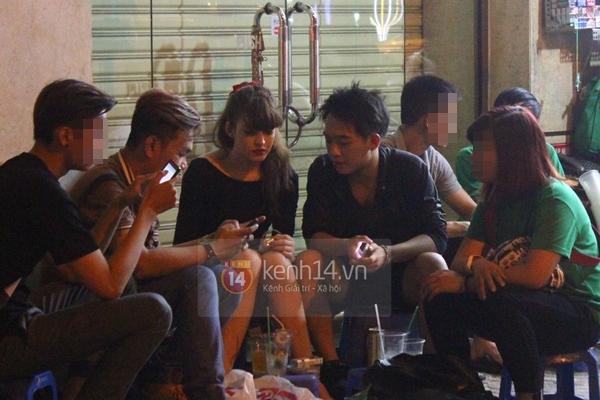 """Bắt gặp Andrea """"hẹn hò"""" Phở Đặc Biệt cafe đêm khuya tại Sài Gòn  4"""