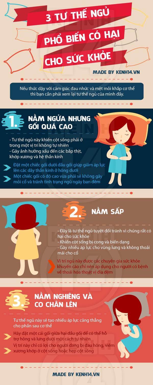 3 tư thế ngủ quen thuộc nhưng hại cho sức khỏe 1