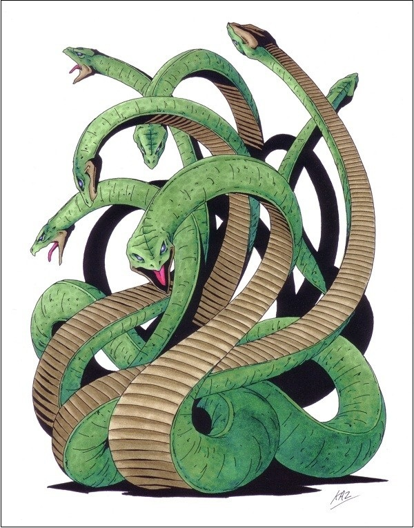 Huyền thoại quái vật rắn 8 đầu 8 đuôi ở Nhật Bản 7