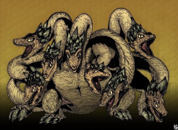 Huyền thoại quái vật rắn 8 đầu 8 đuôi ở Nhật Bản 2