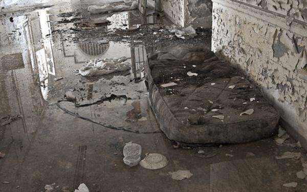 Thăm nhà thương điên bỏ hoang thời chiến tranh 6