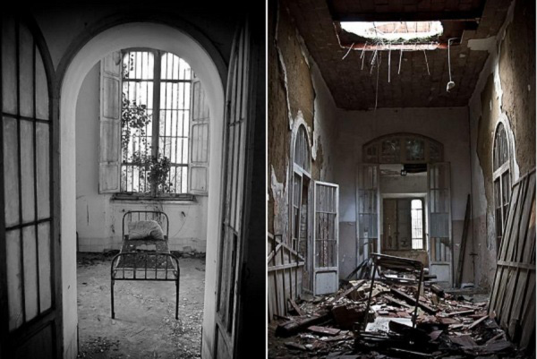 Thăm nhà thương điên bỏ hoang thời chiến tranh 10