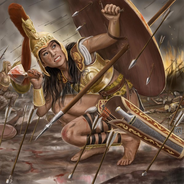 """Bộ tộc nữ binh Amazon chuyên """"săn đàn ông"""" 4"""